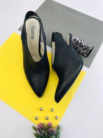 Кожаные туфли heine