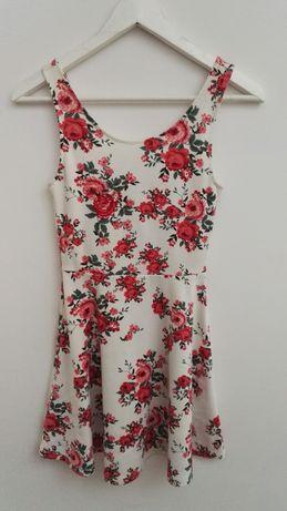 Elegancka letnia sukienka, H&M, rozm.34