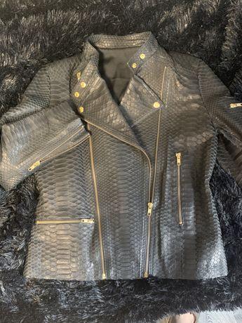 Куртка из кожи питона