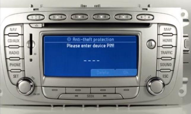 Flash VW Ford Kod do radia Inowrocław rozkodowanie radia Nissan Opel