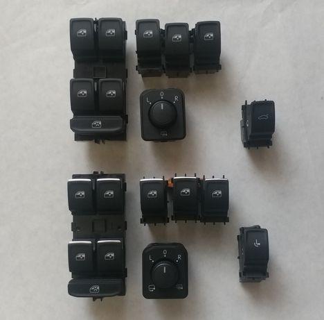 кнопки управления стеклоподъёмниками / зеркалами VAG