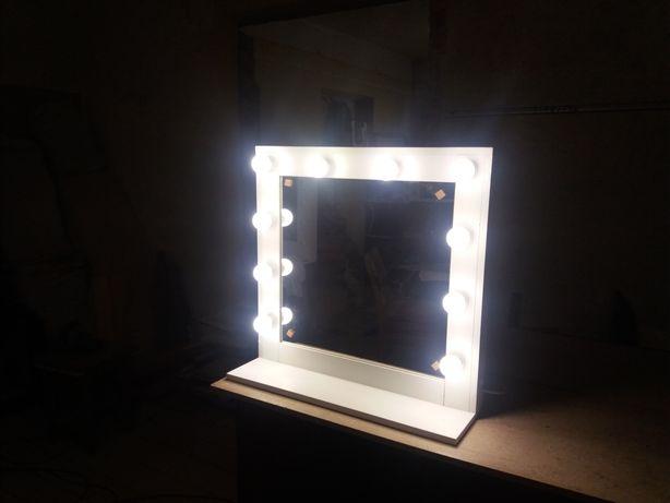 Дзеркало, макіяжу, лампочками, візажне, зеркало, гримерне, макіяжне