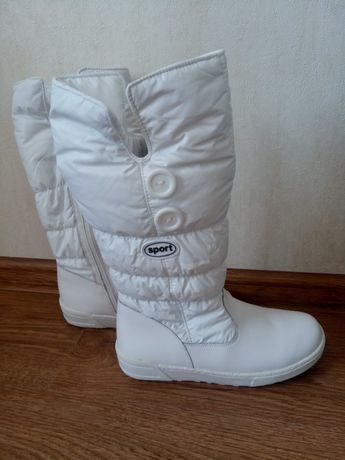 Сапожки. Зимові чобітки для дівчинки