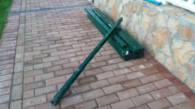 Столбы для секционного забора БУ