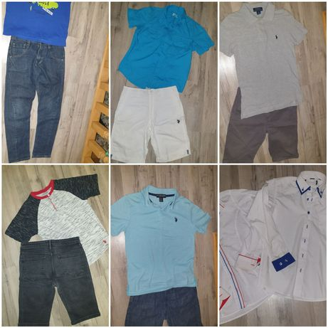 Мальчику на 10-12 лет, комплекты шорты, футболки, джинсы, любой 150грн