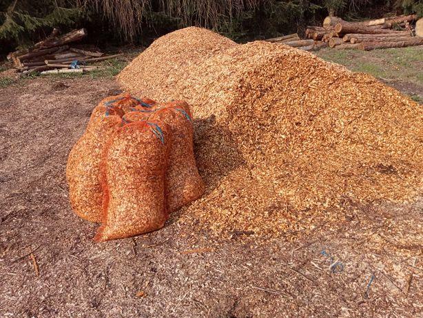 Stemple Budowlane ! Drewno opałowe! Zrębki drewniane, podsypka , Opał