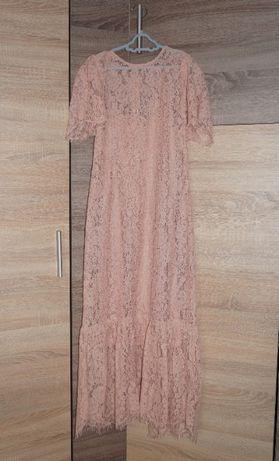 новые кружевные платья Zara, размеры М и L