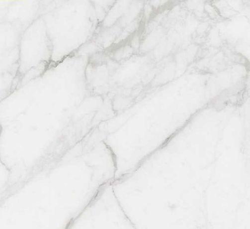 Плитка для пола глянцевая Calacatta Eхtra белая 59,5х59,5 см,1,06 м2.