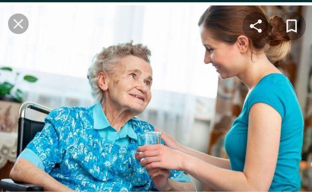 Предоставляю Уход за пожилыми людьми
