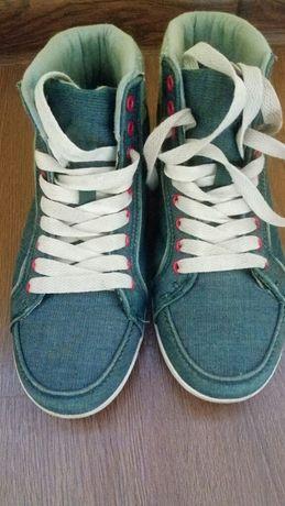 Кеды Токкарди, джинсовые
