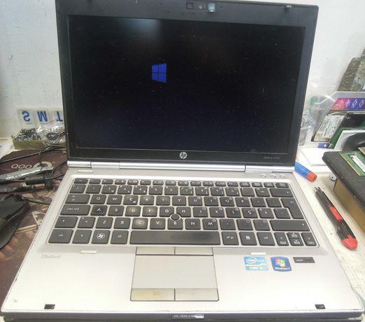 hp elitebook 2560p de 13 polegadas i5