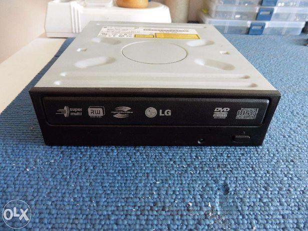 Gravador DVD IDE LG GSA-H42L suporta todos os formatos e Lightscribe