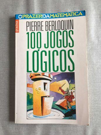 4 livros O prazer da matemática Jogos Lógicos Actividades Matemáticas