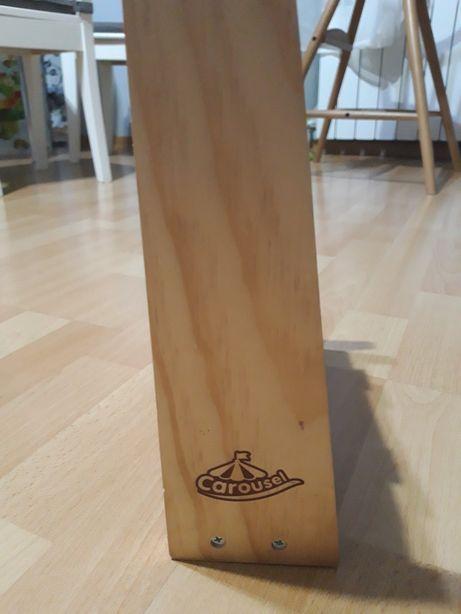 CAROSUEL układanka drewniana do nauki angielskiego