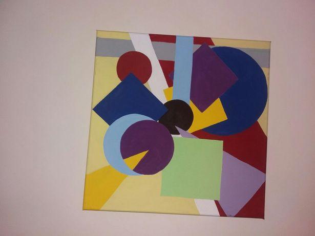 quadro figuras geométricas