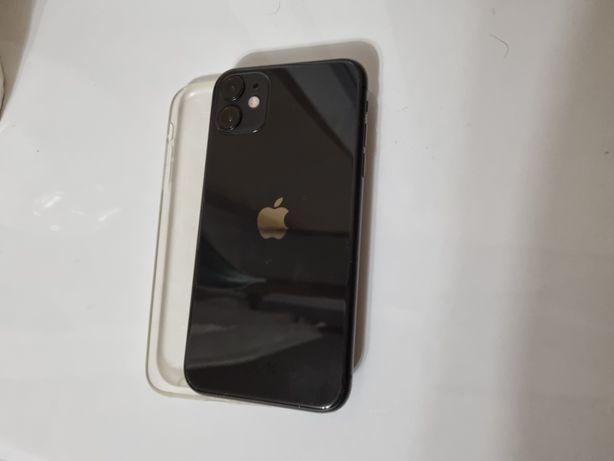Apple iPhone 11 64GB zestaw, bateria 96%, gratis dwa etui, faktura