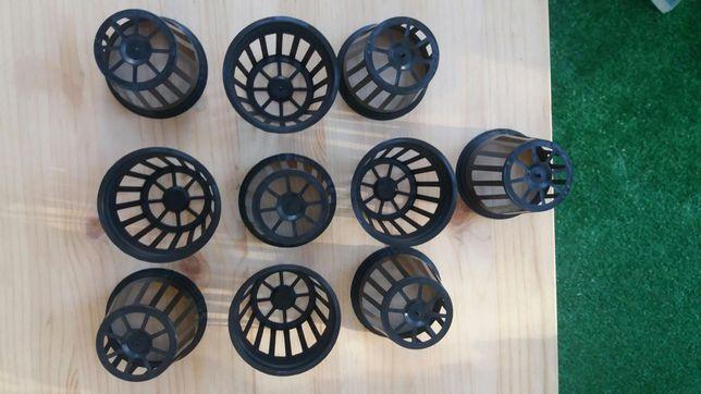 10 Vasos 5x5cm para hidroponia ou plantas de aquário