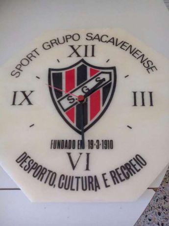 Relógio Sport Grupo Sacavenense em pedra mármore