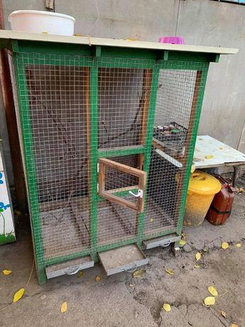 Вольер-клетка для грызунов.