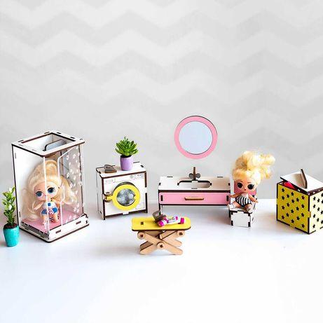 Мебель для кукольного домика Лол Ванная Лялькові меблі LOL игрушки