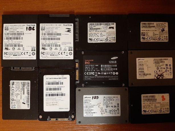 SSD диски 128Gb Micron, Samsung, Sandisk Sata III (для ПК и ноута)