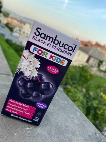 Sambucol. Черная бузина, поддержка иммунной системы, для детей.