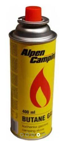 10x Nabój gazowy kartusz gaz kuchenki Alpen Camping