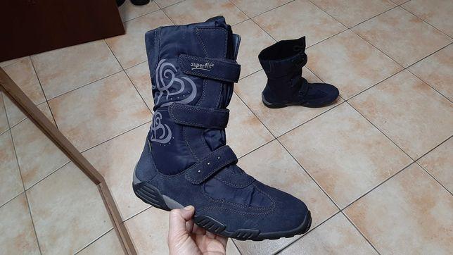 38р,стелька24,5см,Зимние сапоги.ботинки SuperFit (Суперфит),отличное