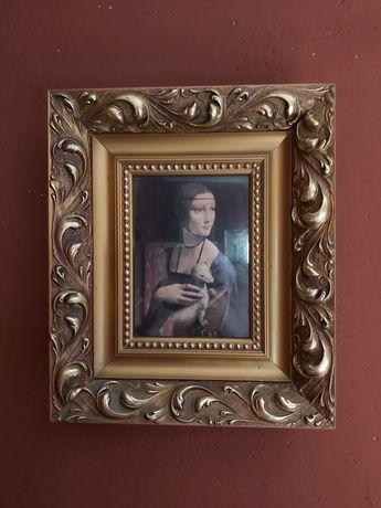 Obraz dama z łasiczką