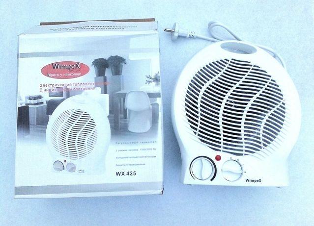 Тепловентилятор Wimpex обогреватель дуйчик дуйка обігрівач конвектор