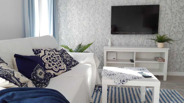 WYNAJMĘ apartament 6os. 2 pok. STEGNA + parking, od 23 sierpnia