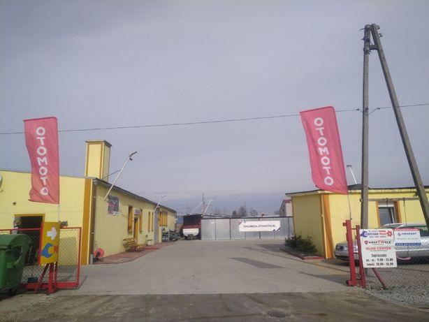 Hala Magazynowa Strefa 450m2 13a Faktura Vat Brzeg Garaże Kamery kostk