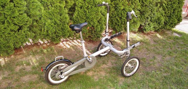 Rower trójkołowy rehabilitacyjny inwalidzki wózek dla dziecka taga
