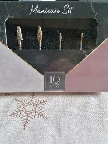 Frezy do paznokci firmy IQ nails żele, chybrydy, skórki