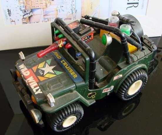 Jeep Wild Willy - Brinquedo Vintage / Coleccionismo - década de 80