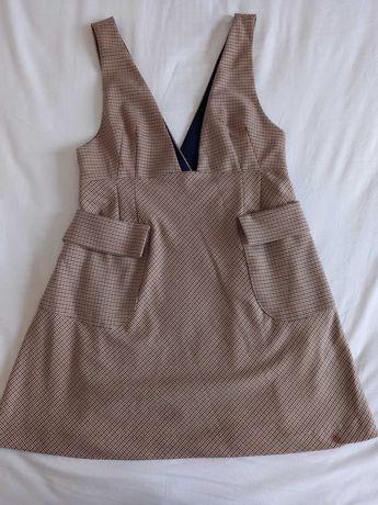 Vestido estilo vintage zara L.