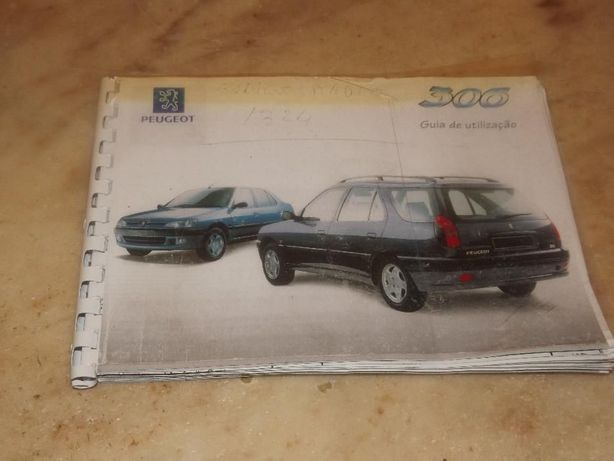 Manual instrucoes Peugeot 306 Break