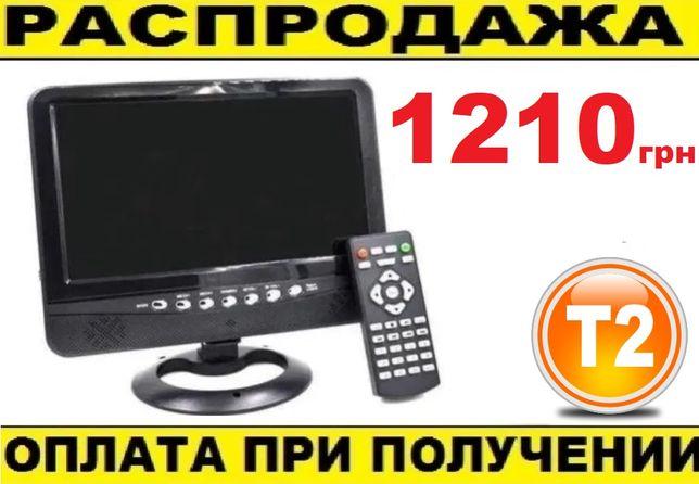 """Автомобильный Телевизор c тюнером Т2 Авто ТВ+USB+Radio 9.5"""" Дюймов. TV"""