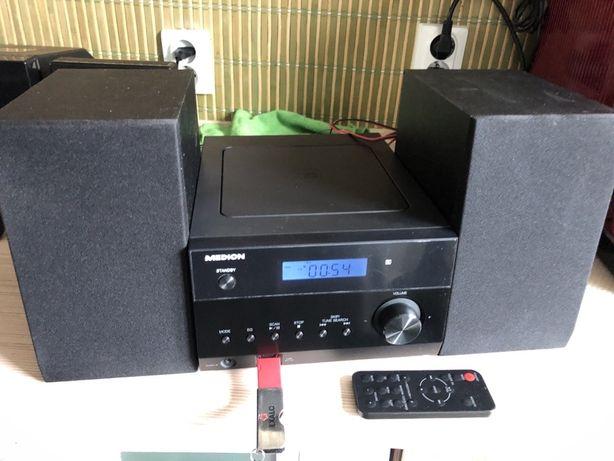 Medion Md84728 Radio Cd/Mp3 Usb Aux Bluetooth Mini Wieza Pilot