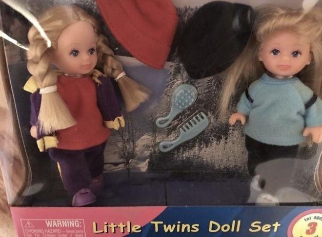Куклы новые Little Twins Doll Set