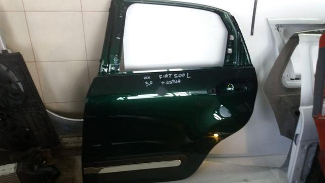 Drzwi FIAT 500 plus listwa