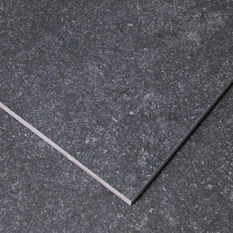 Płytki Tarasowe Podłogowe Gres 20mm Spectre Dark Grey 60x60 Rett
