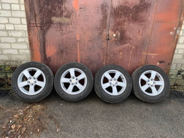 Диски + резина R16 215/60 Chevrolet Cruze 5x105 J6.5 ET39