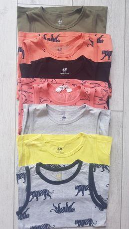Naramki 2packi  bluzeczki firmy H&M rozmiar 11/116