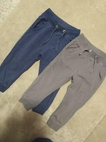 Spodnie dresowe 86 2 szt