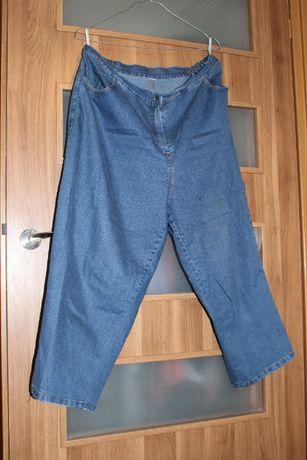 DUŻY ROZMIAR JAK NOWE damskie dżinsowe SPODNIE / dżinsy / jeansy