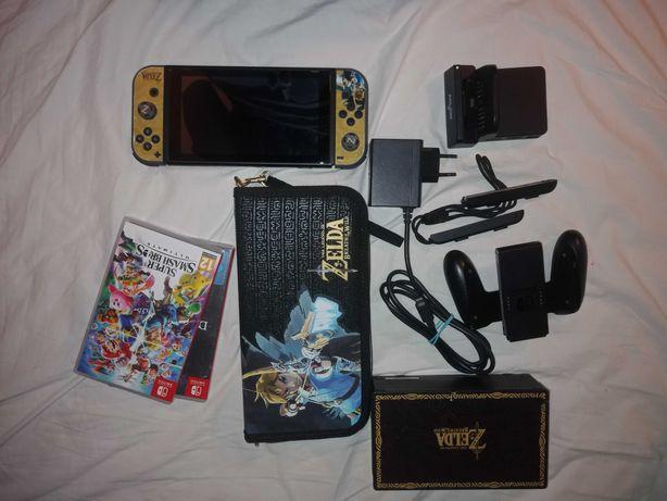 Zestaw Nintendo Switch+20 gier+Wszystkie akcesoria i inne