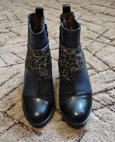 Ботинки кожаные Испания