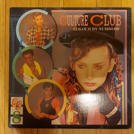 Culture Club, Colour By Numbers, USA, 1983, bdb+++