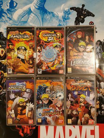 Naruto PSP collection